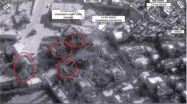 Harim Air Strike on Compound 001