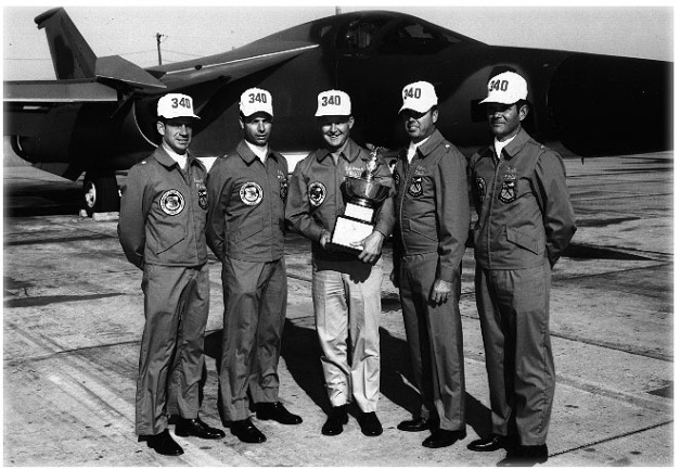 Bomb Comp Winners 8th AF 340th Bomb Group 1970
