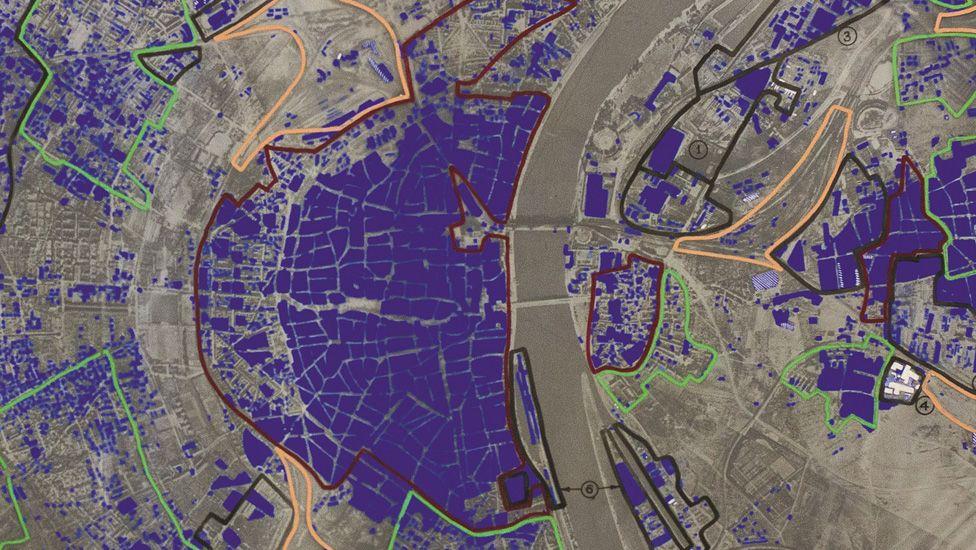 dresden bombing map