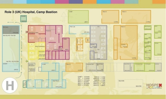 Camp Bastion Role 3 hospital (late 2010)