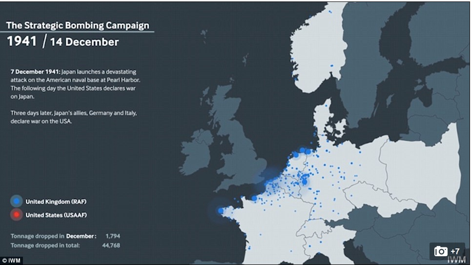 Strategic Bombing Campaign Geographical Imaginations - Germany map geographical
