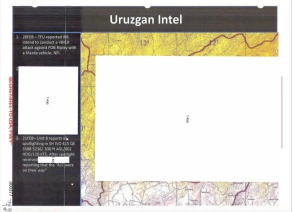 Uruzgan Intel