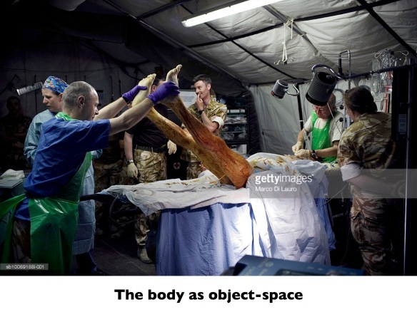 GREGORY The body as object-space