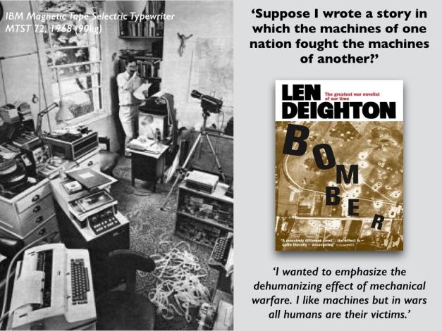 Len Deighton BOMBER (Tanner Lecture 1).001
