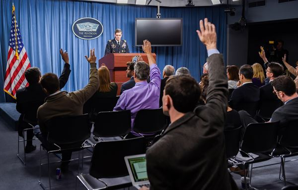General Votel at Pentagon press briefing on MSF attack
