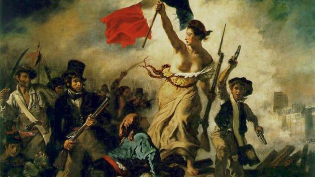 Delacroix Liberty leading the people