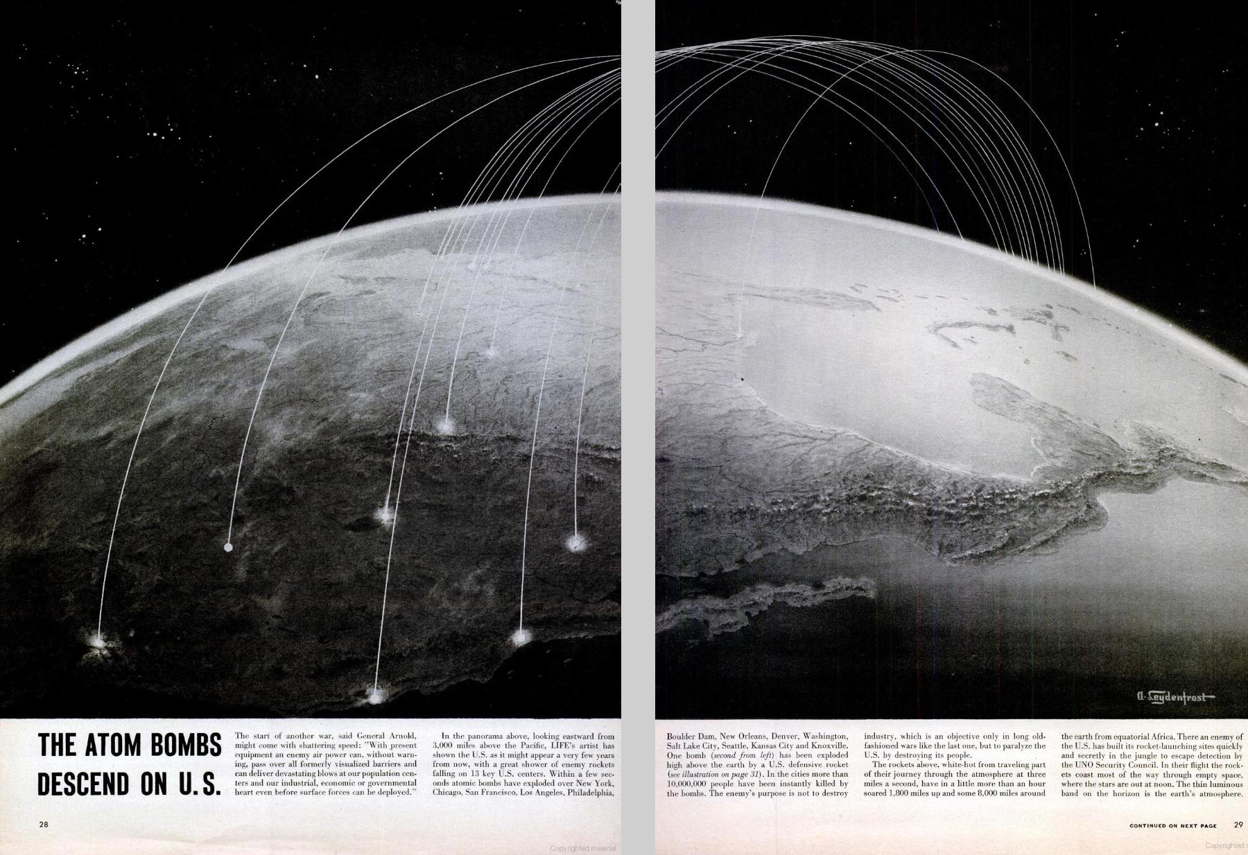 nuclear strikes essay Atomic bomb essays on august 6, 1945, at 8:15 the american plane the enola  gay changed history forever the plane dropped the first atomic bomb over the.