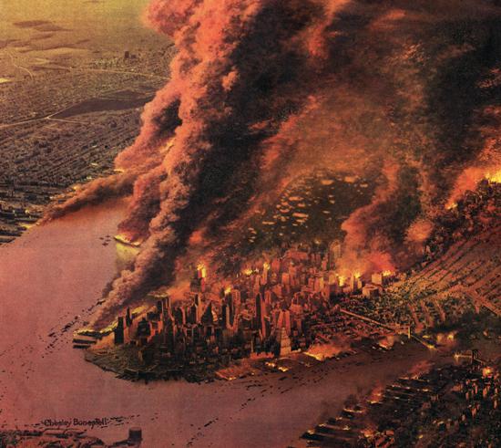 Nuclear Explosion Concept Art